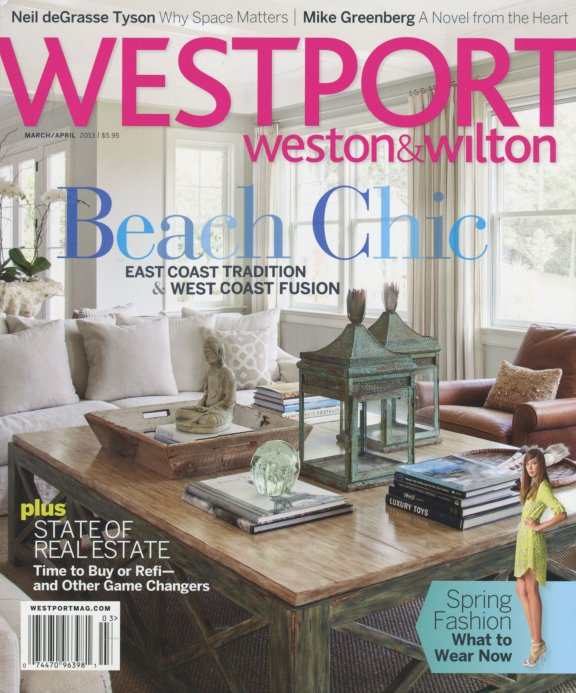 Olga Adler Interiors Magazine Cover March 2013