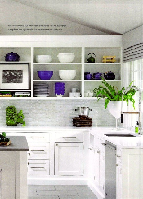 Kitchen Design details in Rooms Magazine feature from Delray Beach interior designer Olga Adler Interiors