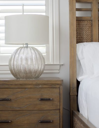Bedroom Detail - Delray Beach Townhouse
