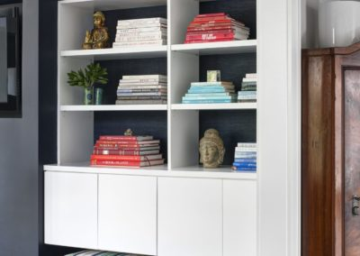 Bookcase- Modern Beach House.