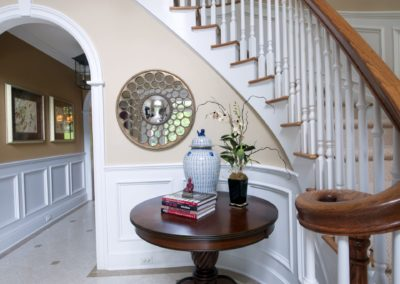 Foyer - City Classic interior design from Delray Beach interior designer Olga Adler Interiors