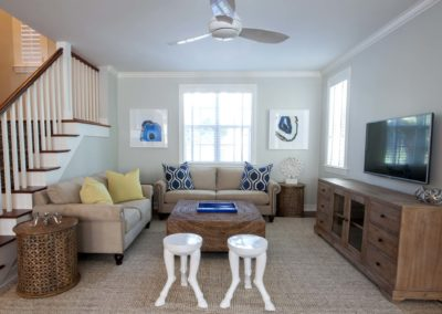 Living Room - Delray Beach Townhouse