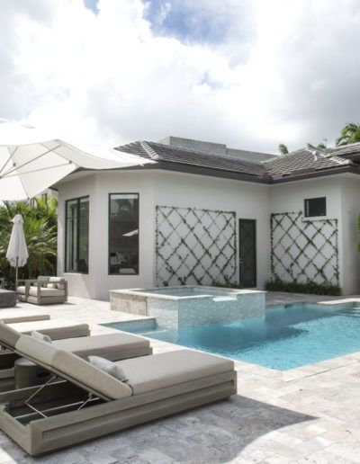 Backyard - Interior Design Delray Beach