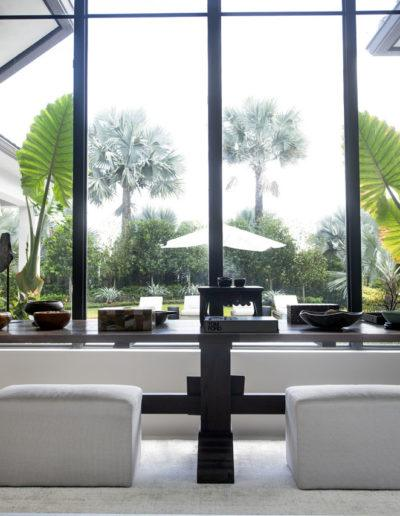 Dining Room View - Interior Design Delray Beach Olga Adler Interiors