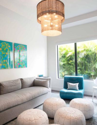 Living Room - Interior Design Delray Beach