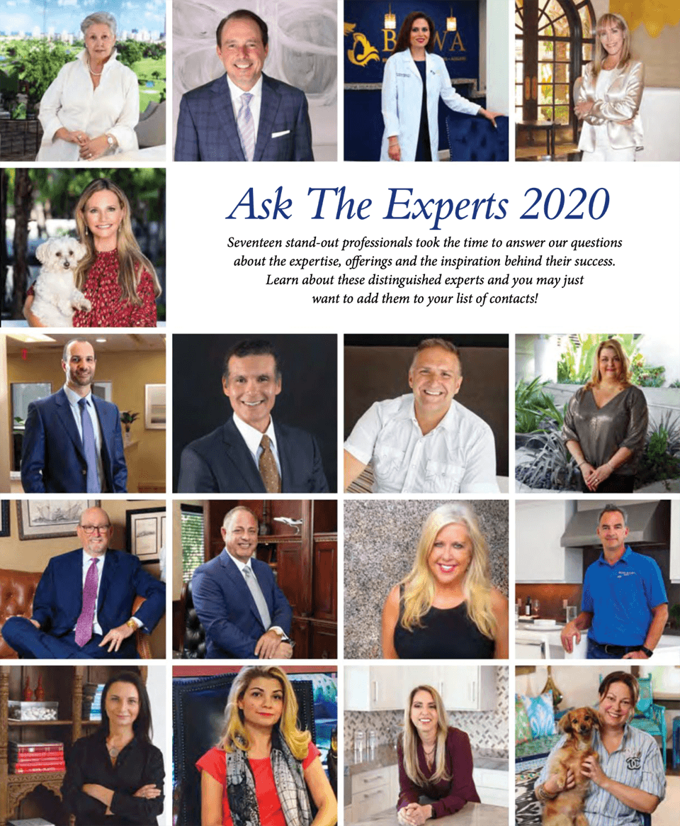 Boca Magazine - Ask the Experts