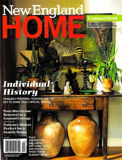 NEW ENGLAND HOME Fall 2014 COVER