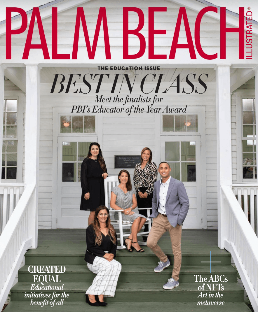 PALM BEACH ILLUSTRATED COVER